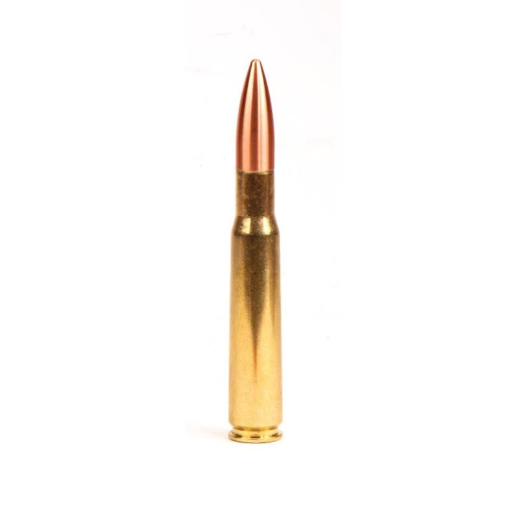 Premium Machine Gun Cartridge Ball Point Flip Pen Kit: 50 Caliber