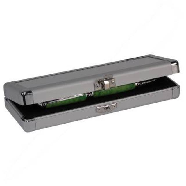 Aluminium Trunk Style Pen Box