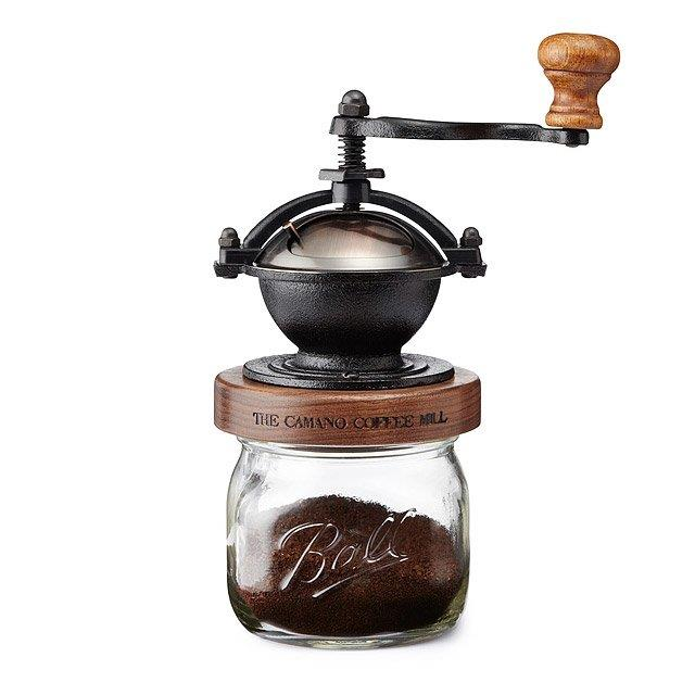 Coffee Grinder: Antique Copper - Click Image to Close