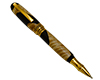 Premium Apollo Infinity Gel Rollerball Pen Kit: Gold Titanium