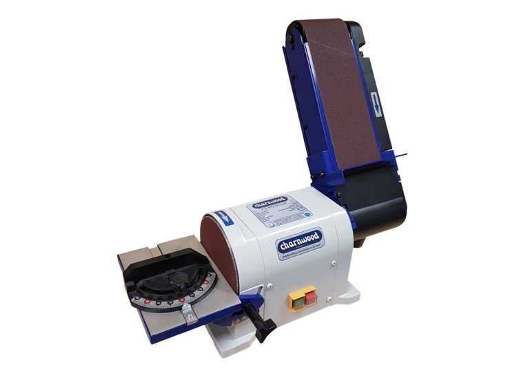 "Charnwood Woodworking Disc and Belt Sander 4"" x 6"""