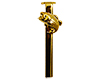 Bass Pen Clip for Slimline/Fancy Pen/Pencil: 24K Gold