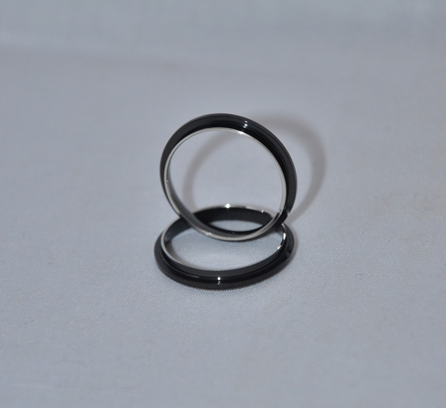 Black Comfort Ring Core: Size 7