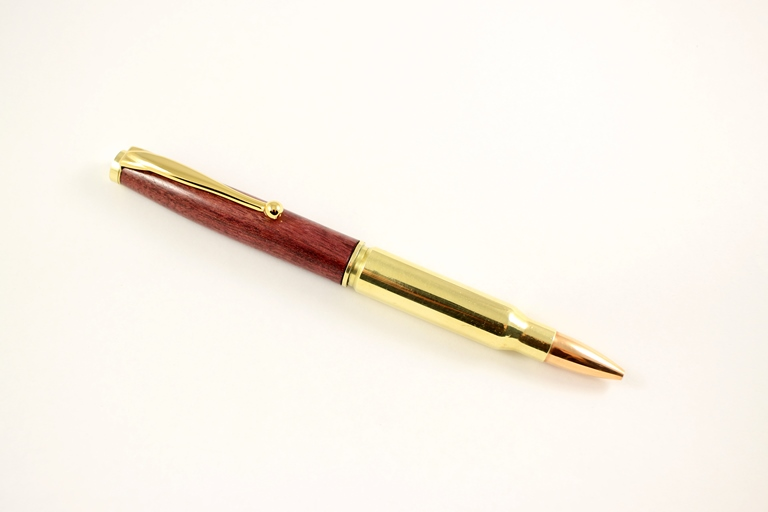 Fancy .308 Twist Pen Kit: Gold