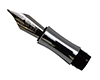 Replacement Fountain Pen Nib for Chairman: Chrome
