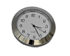 Economy Clock Insert: 37mm Diameter Chrome Face