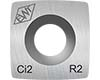 "Ci2-R2 / 2"" Radius Carbide Cutter"