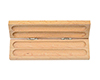 Economy Double Wooden Pen Box: Light Maple