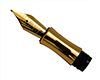 Replacement Fountain Pen Nib for Chairman: 12K Gold