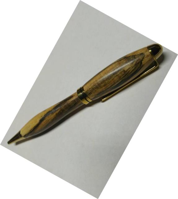 Economy Euro Twist Pen Kit: Titanium Gold