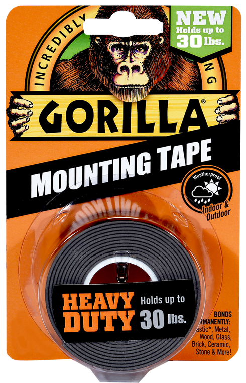 Gorilla Mounting Tape Heavy Duty