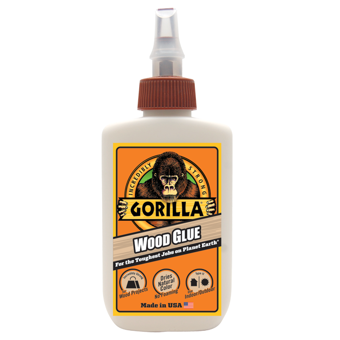 Gorilla Wood Glue 4oz (118ml)