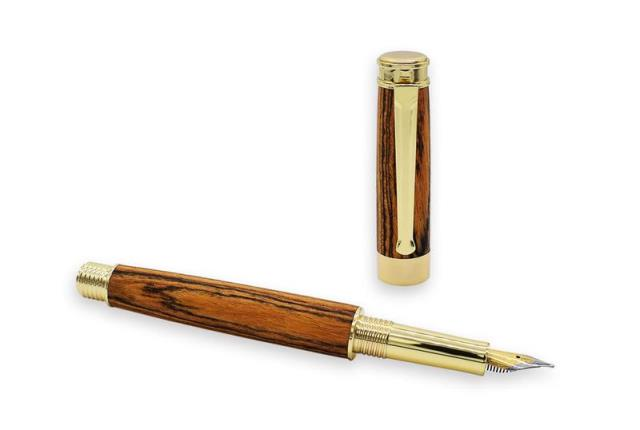 Economy Hurricane FOUNTAIN Pen Kit: Gold