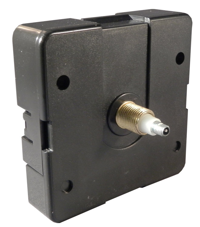 "Clock Movement: I-Shaft Quartz Motor With 5/8"" (15.87mm) Shaft"