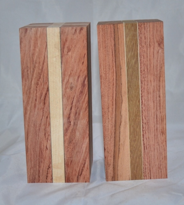 Laminated Wood (set): Salt & Peppermill Blanks (90mm)
