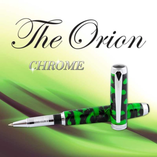 Premium Orion Rollerball Pen Kit: Chrome