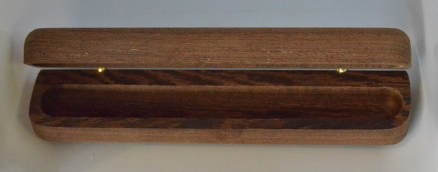 Single Wooden Pen Box (Extra Long Pen): Partridge