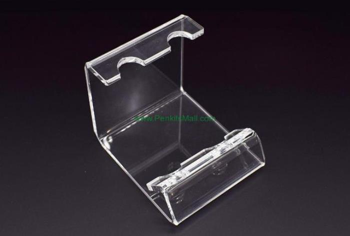Pen Display Stand: Acrylic (2 holes)