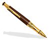 Premium Phoenix Pen Kit: 24K Gold