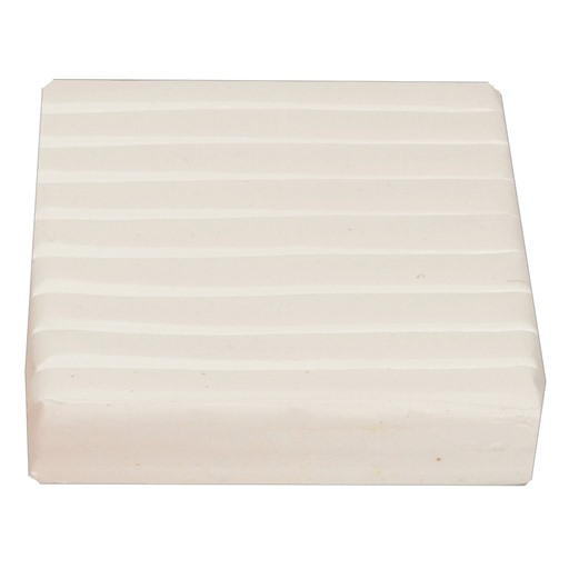 Polymer Clay Brick 56g.: White