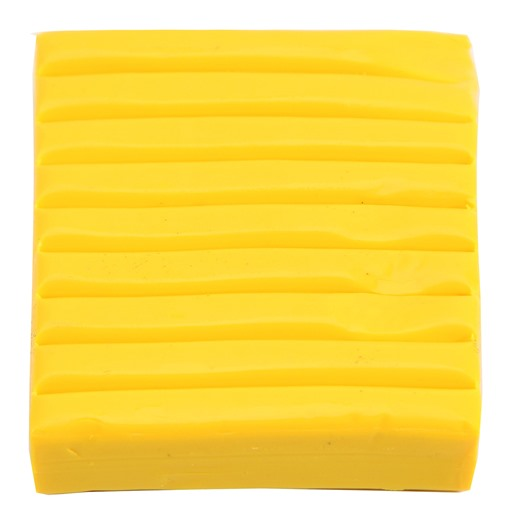 Polymer Clay Brick 56g.: Yellow