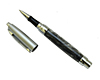 Premium Presimo Rollerball Pen Kit: Chrome & Satin Chrome