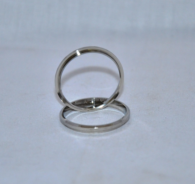 Silver Comfort Ring Core: Size 10