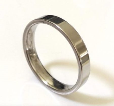 Stainless Steel Ring Core: 7mm - 8 (18.0mm)