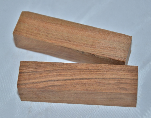 Premium Wood Pen Blank: Tamboti (80mm)