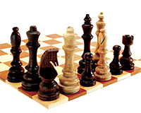 2-Up Chess Steel Template Set