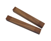 Premium Wood Pen Blank: Figured Kiaat