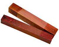 Wood Pen Blank: Red Ivory