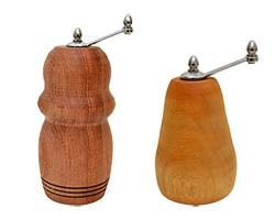Distinctive Peppermills