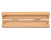 Economy Single Wooden Pen Box: Light Maple