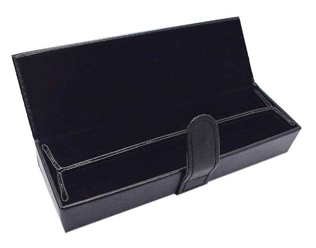 Leather Pen Box: Double