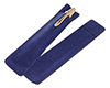 Small Velvet Pen Bag: Blue
