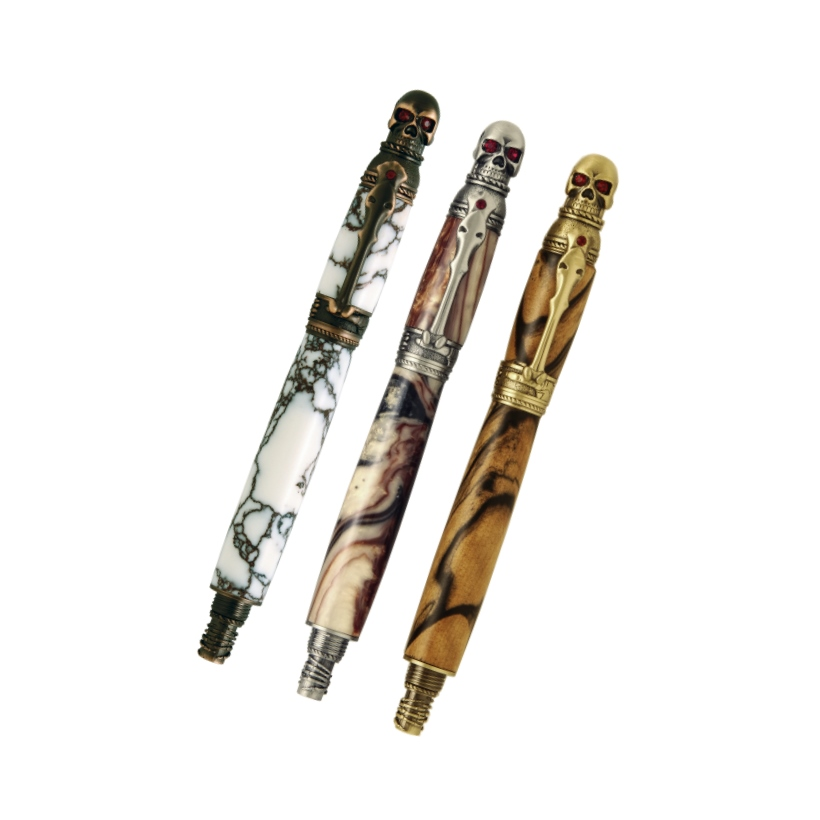 Premium Quality Skull Pen Kits